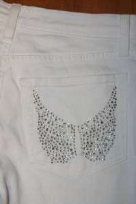 NYDJ Not Your Daughters Jeans tummy tuck CRYSTAL Pockets MINT cond