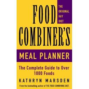 Food Combiners Meal Planner (9780722529157): Kathryn Marsden: Books