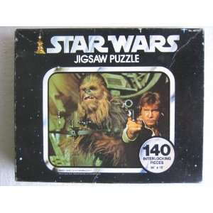 Star Wars Series I HAN and CHEWBACCA 140 piece Jigsaw Puzzle by Kenner