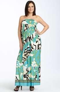 NEW OLIAN Maternity Aubrey Print Maxi Dress SMALL