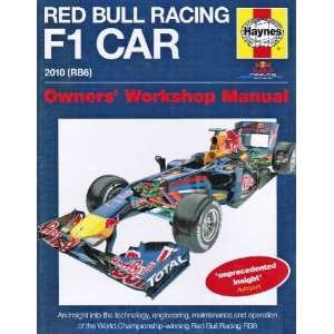 Steve RendlesRed Bull Racing Formula 1 Car Manual An