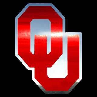 Oklahoma Sooners OU Logo Auto Car Window Sticker Decal