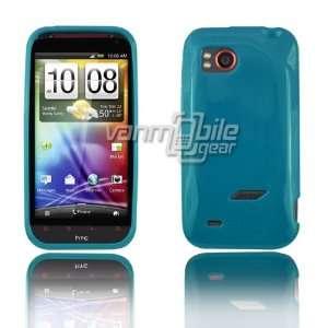 VMG HTC Rezound TPU Rubber Skin Case Cover 2 ITEM COMBO PACK Dark Teal