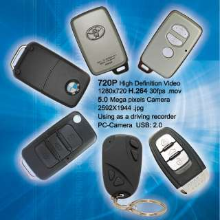Jumbo #11 Mini HD Car Keychain Camera Covert Recorder