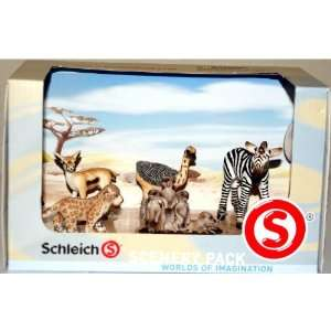 Scenery Pack WORLDS OF IMAGINATION Baby ANIMALS Box SET