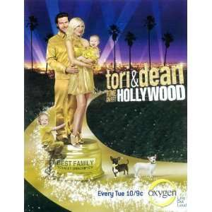 Tori and Dean Home Sweet Hollywood Movie Poster (11 x 17