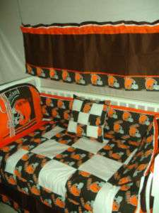 Baby Nursery Crib Bedding Set w/Texas Longhorns fabric