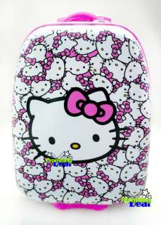 16 Hello Kitty Luggage Baggage Trolley Roller Gift TOP