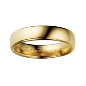 5mm Euro Comfort Fit Wedding Band Ring (Sizes 4 to 8). BENCHMARK