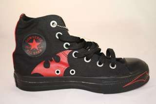 Converse Chuck Taylor All Star Batman Black and Red Hi Top