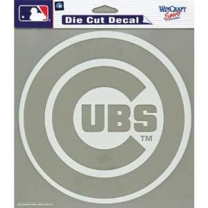 Chicago Cubs   Logo Cut Out Decal MLB Pro Baseball Automotive