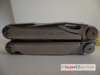 NEW LEATHERMAN WAVE MULTI TOOL KNIFE PLIERS WITH SHEATH