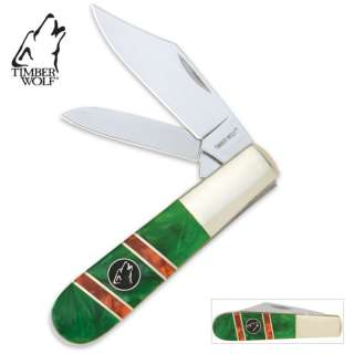 Timber Wolf Emerald Hill Barlow Folding Knife