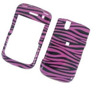 BLACKBERRY TOUR 9630 Hot Pink Zebra Design Protector Case