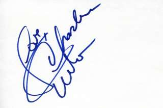 CHARLENE TILTON Lucy Ewing on DALLAS Autograph