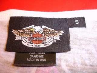 Harley Davidson Tye Tie Dye Womens Shirt Size Small Never Worn LOOK