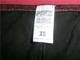 PINK ALABAMA Crimson Tide Lounge Yoga Foldover Pants X SMALL