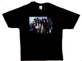 JOHNNY DEPP 4 Characters Mad Hatter Sparrow NEW T shirt