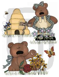 of Teddy Bears (as shown above). The cute images are printed on 11