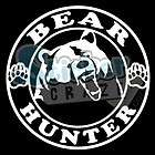BEAR HUNTER HUNTING HNTING0004 STICKER/DECAL CHOOSE SIZ