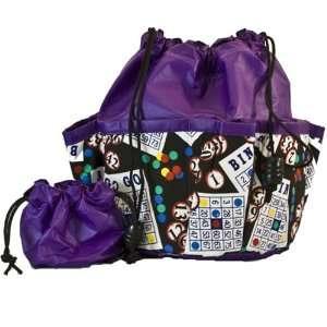 Bingo Dauber Bag   Cards #1 Design   Purple Toys & Games