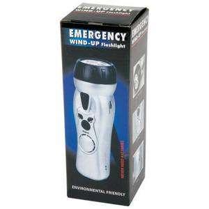 Bulk Lot (24) Emergency Wind Up Hand Crank Radio LED Flashlight Alarm