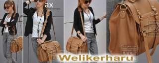 Womens Shoulder Bags Handbag Vintage Satchel Buckle 4 Colors