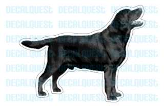 BLACK LAB Dog Decal sticker labrador retriever car