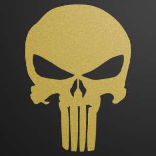 Helmet Decal Sticker Skull Punisher Car Window ZE52W