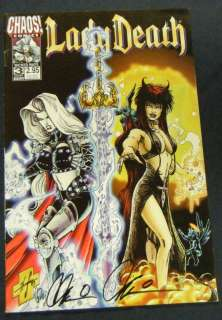 LADY DEATH #3 Monthly Series. Brian Pulido, Steven Hughes, and more