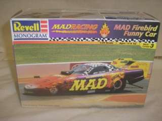 REVELL MONOGRAM MAD FIREBIRD FUNNY CAR MODEL 124