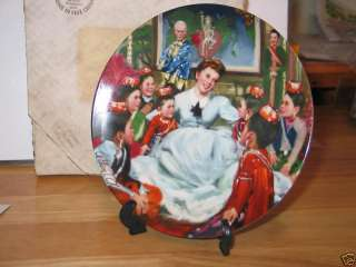 EDWIN KNOWLES CHINA CO COLLECTOR PLATE..THE KING AND I
