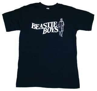 Beastie Boys Trenchcoat Logo Music T Shirt Tee