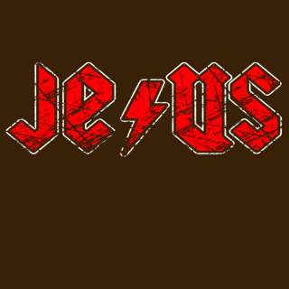 T119 Jesus Christ Rock Christian Funny Cool T Shirt NEW