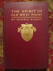 OF OLD WEST POINT   FIRST EDITION   CIVIL WAR   SHARP BOOK