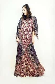 COTTON Boho Hippie ANGEL SLEEVE Gypsy Maxi FESTIVAL Dress