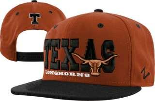 Texas Longhorns Dark Orange New Old School Adjustable Snapback Hat