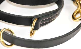 Multi Purpose Universal Leather Dog Collar Leash