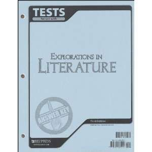 in Literature Tests Answer Key (9781591665052): by Kim Stegall: Books