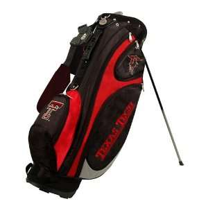 Texas Tech Red Raiders Black Scarlet Gridiron Stand Golf