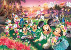 Japan Jigsaw Puzzle Tenyo Disney Mickey Wedding #359