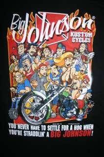 Big Johnson Kustom Cycles T Shirt