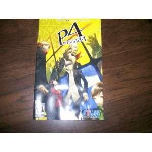 Shin Megami Tensei Persona 4 Instruction book for