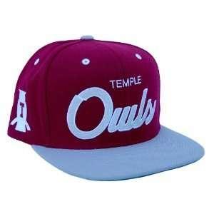 Temple University Owls Snapback Adjustable Hat Cap  Sports