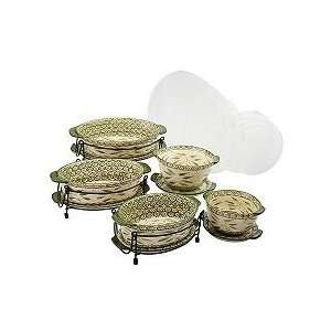 Temp tations Old World 13 pc. Lid it Oven to Table Set: