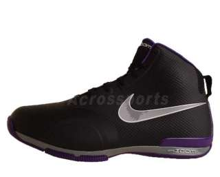 Nike Zoom BB 1.5 Black Purple Fuse Tech 2011 New Mens Basketball Shoes