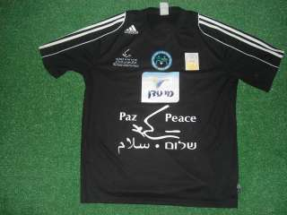 Peace Team Match Worn Shirt vs Real Madrid 2007