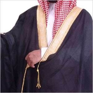 Black, Original Arab Bisht, Cloak, Arabic, Islam, Thobe