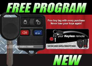 FORD LINCOLN REMOTE CHIP KEY KEYLESS FOB TRANSMITTER