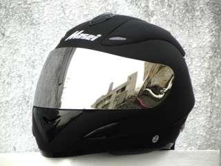 MASEI 802 BLACKBIRD DOT Motorcycle Helmet FLAT BLACK M XL